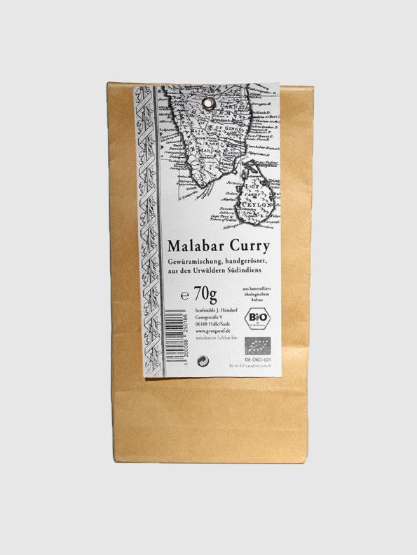 Malabar-Curry handgeröstet